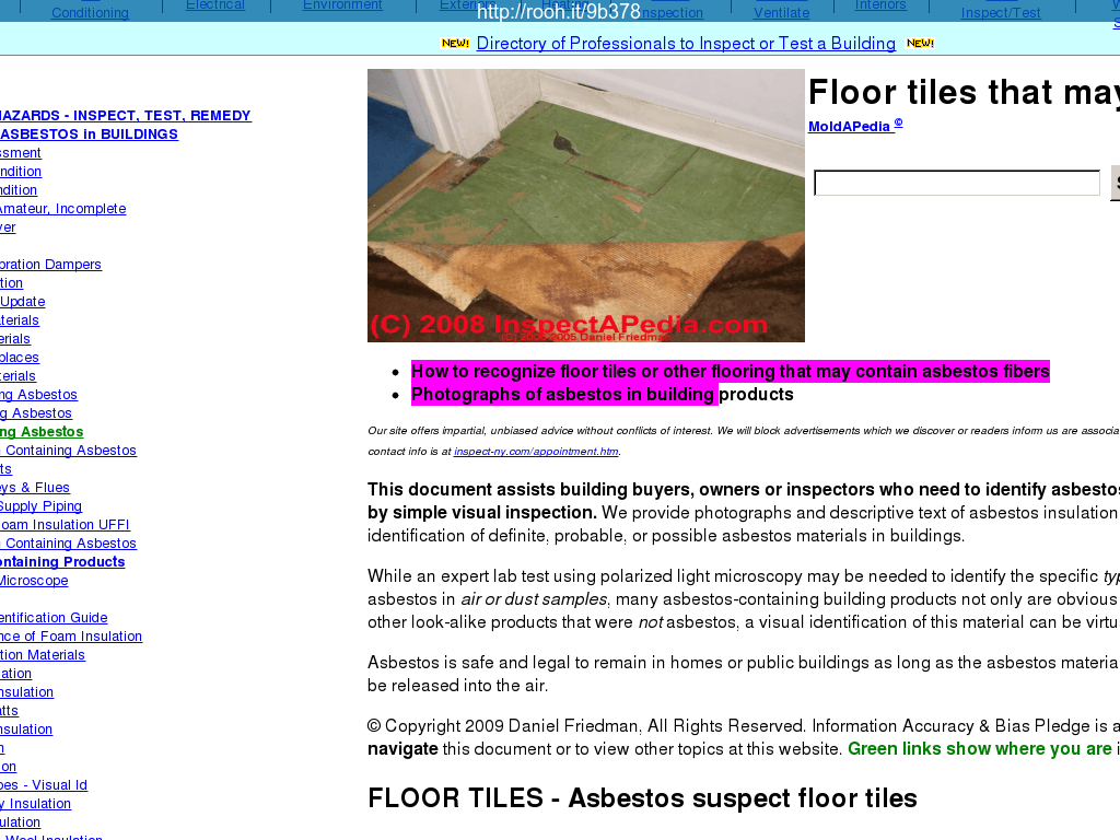 #7F007F How To Identify Asbestos Floor Tiles Or Asbestos  Most Effective 9215 Air Conditioning Maintenance Risk Assessment pictures with 1024x768 px on helpvideos.info - Air Conditioners, Air Coolers and more